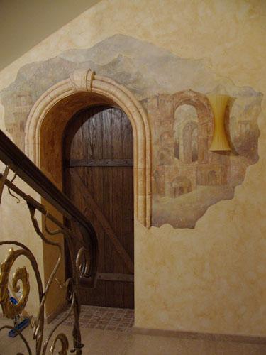 Фрески на стену своими руками фото